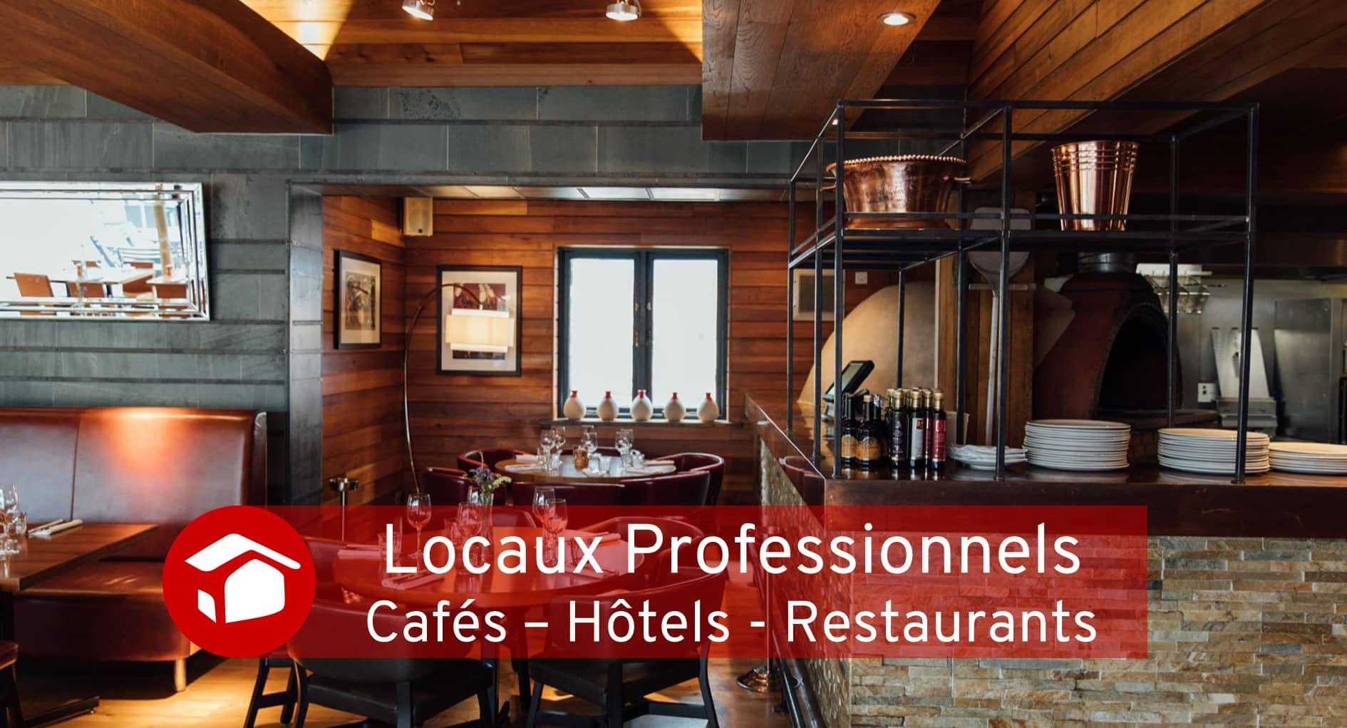 Cafés - Hôtels - Restaurants Locaux Professionnels Travaux Meilleur Projet