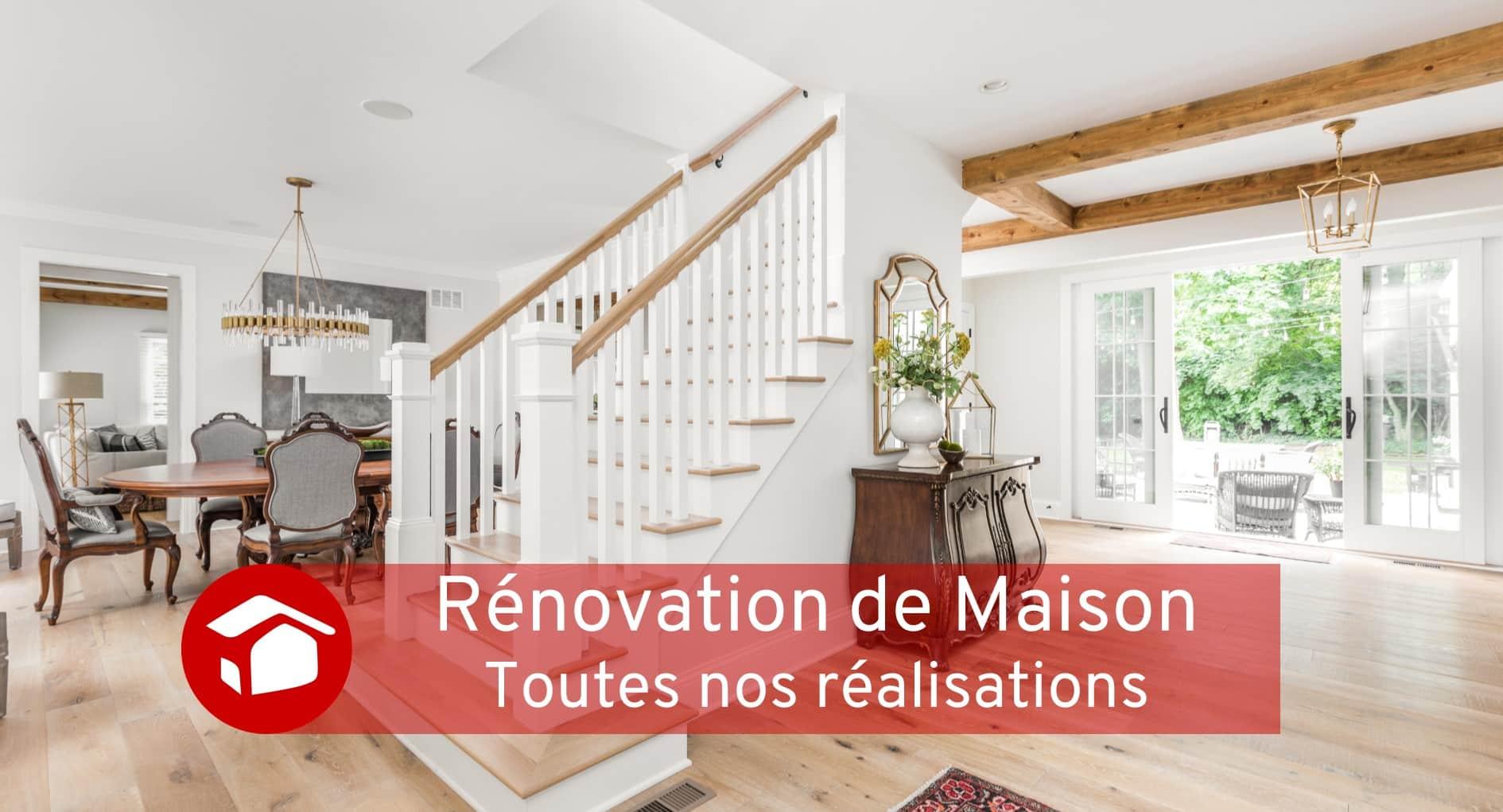 Projet de rénovation de maison