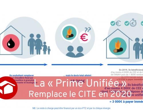 Une «Prime Unifiée» remplace le CITE en 2020