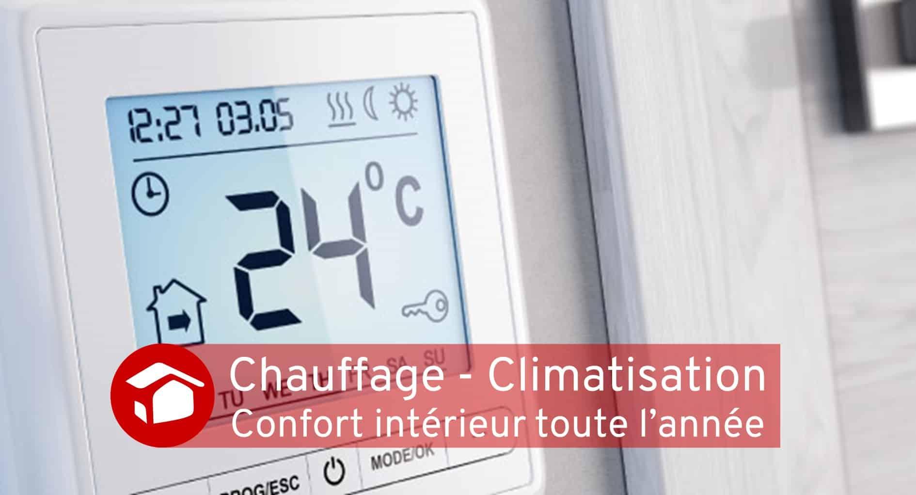 Chauffage - Climatisation travaux