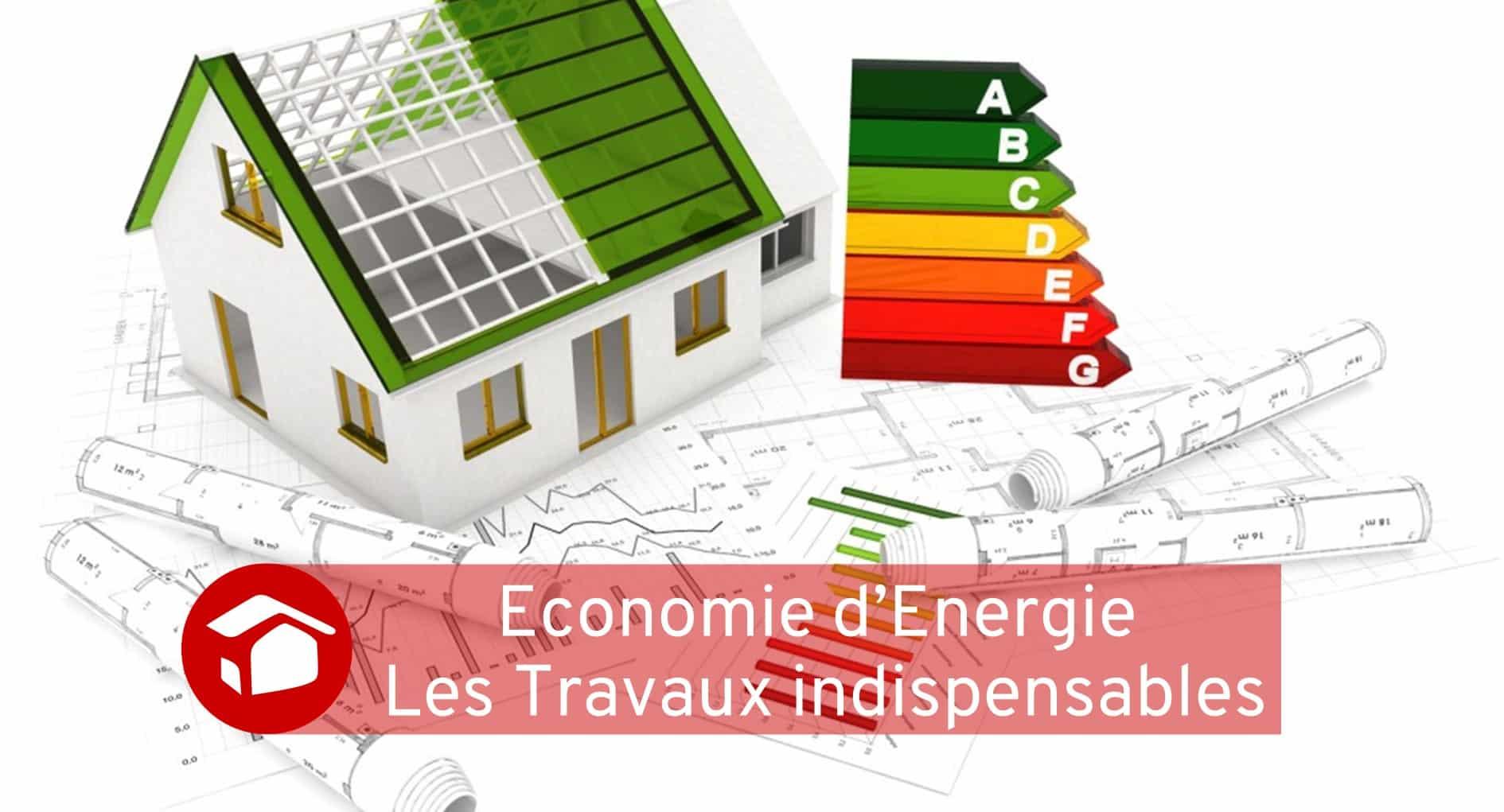 Economie d'énergie travaux